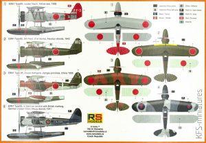 """1/72 Nakajima E8N1 """"Dave"""" – RS Models"""