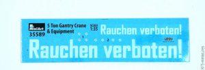 1/35 5 Ton Gantry Crane and Equipment - MiniArt