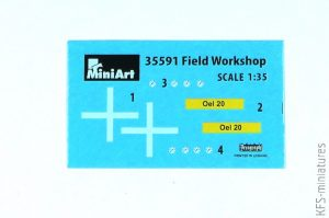 1/35 Field Workshop - MiniArt