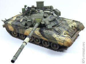 1/35 T-80U Main Battle Tank - RPG-MODEL – Malowanie