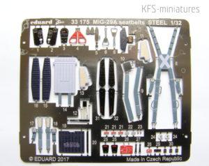 1/32 MiG-29A Trumpeter - dodatki - Eduard