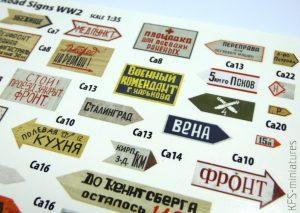 1/35 Soviet Road Signs - WWII - MiniArt