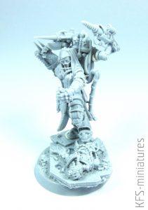28mm Heresy Hunter Dominator Medic - Grim Skull