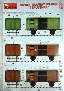 "1/35 Soviet Railway Wagon ""Teplushka"" - MiniArt"