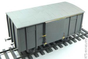 1/35 Wagon 18t ''NTV'' Type - MiniArt - Budowa