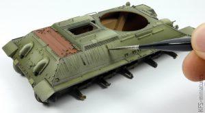 1/35 T-34/85 Model 1945 - Rye Field Model - Malowanie