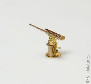 1/700 IJN 8cm/40 3rd Year Type AA Gun - Five Star Model
