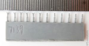 1/700 IJN Steam Pipes and Smoke Pipes I (Small Size) - Rainbow