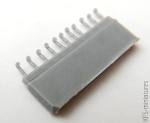 1/700 Deck Vent-Pipe IV (Pipe-Type, 20 Pcs.) - Rainbow