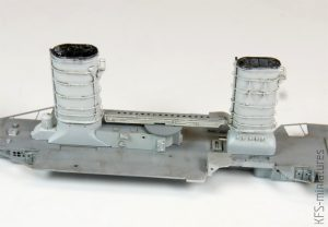 1/700 German Light Cruiser Konigsberg 1940 – Budowa cz. 1