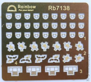 IJN Steam Pipes and Smoke Pipes  - Rainbow Models
