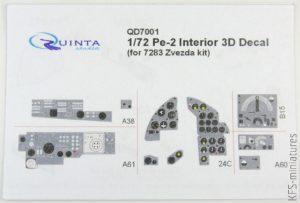 1/72 Pe-2 waloryzacje - Quinta Studio