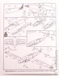 1/144 Messerschmitt Me-309 V-1/V-2 - Brengun