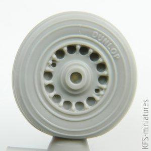 1/72 Buccaneer S.2C wheels AIRFIX - Eduard