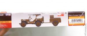 1/72 1/4 Tonn Truck 'Willys' - MisterCraft