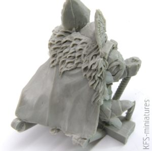 28mm Dwarf Lord Tormund on War Boar - Scibor Monstrous Miniatures