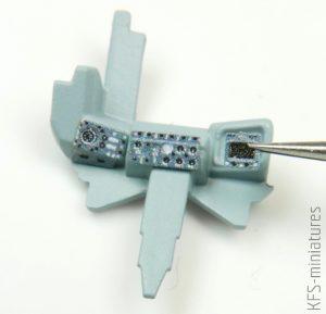 1/72 Buccaneer S.2C - Blachy do modelu AIRFIX - Eduard