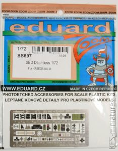 1/72 SBD Dauntless HASEGAWA - Eduard