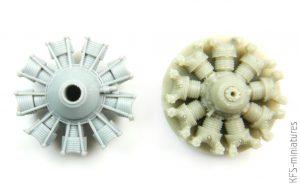 1/72 Dauntless engine for Hasegawa - Quickboost
