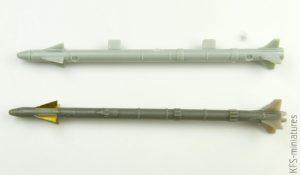 1/72 AIM-9X Sidewinder - Eduard