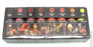 Blood and Fire - Red Paint Set - Scale75