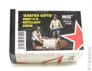 """1/35 """"EASTER GIFTS"""" WWII U.S. Artillery Crew - MIG Productions"""
