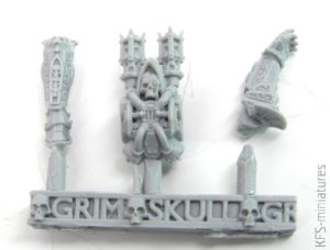 28mm SISTER SAINT CELESTIA (PIN-UP) - Grim Skull