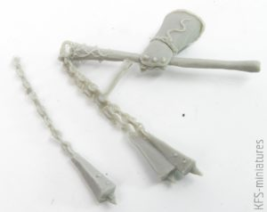 75mm Kraksus, Black Sun Champion - Blacksun Miniatures