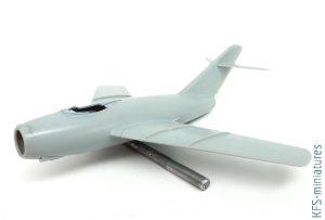 1/48 Lim-2/MiG-15bis - Budowa