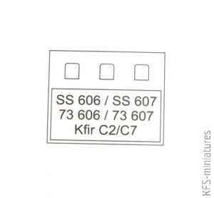 1/72 Kfir C2 - Zoom - Eduard