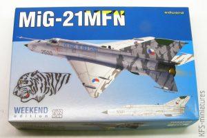 1/72 MiG-21MFN - Weekend - Eduard