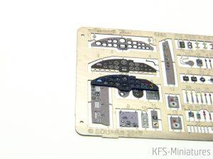 1/48 Heinkel He 111 - Instrument panel - Yahu Models