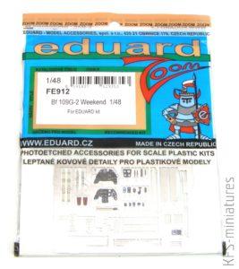 1/48 - BF 109G-2 - Eduard Weekend Edition