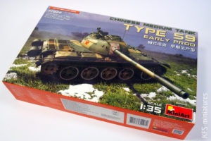 1/35 Chinese Medium Tank Type 59 Early Production - MiniArt