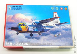 1/72 SH 89 / CASA C.212 - Special Hobby
