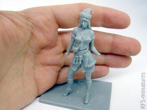 70mm Swedish Veteran - Valkiria Miniatures