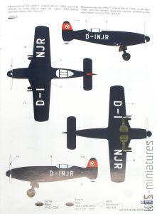 1/72 Messerschmitt Me 209 V1 Special Hobby