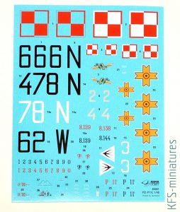 1/48 PZL P.11c - Arma Hobby