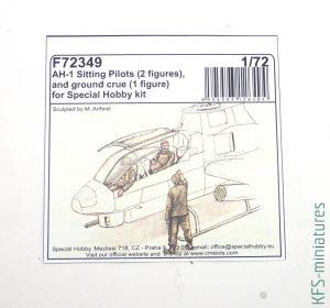 1/72 AH-1G Cobra - Dodatki i Waloryzacje