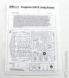 1/72 Yokosuka D4Y5 Judy 'Night Fighter' - AZ model