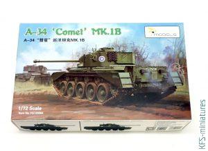 1/72 A-34 'Comet' MK.1B - Vespid Models