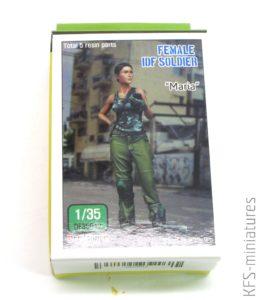 """1/35 Modern IDF Soldier - """"Maria"""" - Def Model"""