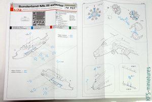 1/72 Short Sunderland Mk.III – Dodatki