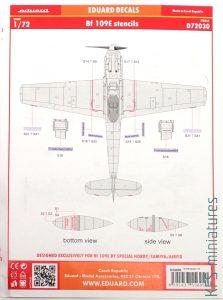 1/72 Bf 109E Special Hobby - Dodatki