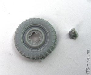 1/35 Kubelwagen/Schwimmwagen wheels - QuickWheel
