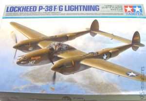 1/48 Lockheed P-38 F/G Lightning - Tamiya