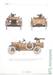 1/35 Model T 1917 LCP with Vickers MG - ICM