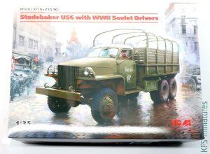 1/35 Studebaker US6 with Soviet Drivers - ICM