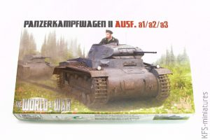 1/72 Panzerkampfwagen II Ausf. a1/a2/a3 - IBG Models