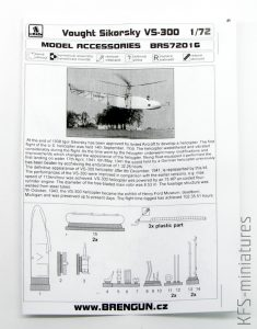 1/72 Vought-Sikorsky VS-300 - Brengun